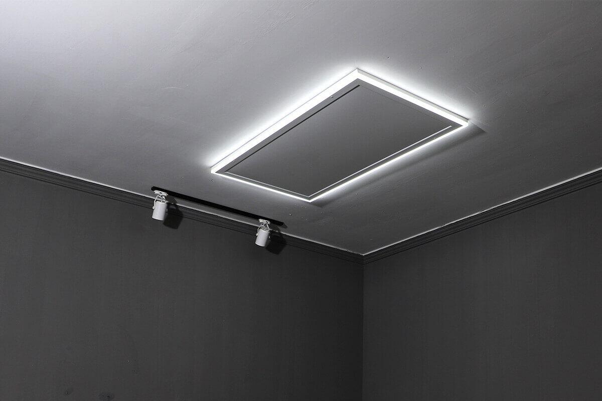 Infrapanely na strop
